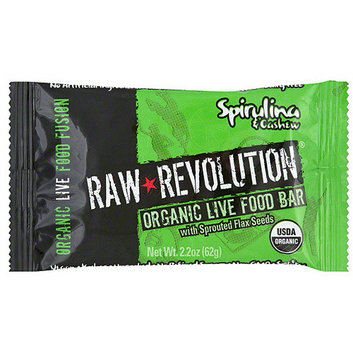 Raw Revolution Spirulina & Cashew Food Bar