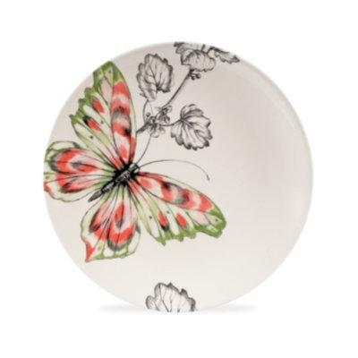 Edie Rose By Rachel Bilson Closeout! Edie Rose by Rachel Bilson Dinnerware, Hydrangea Butterfly Accent Salad Plate