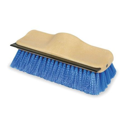 TOUGH GUY 1VAD3 Scrub Brush with Squeegee, 10 In. Block