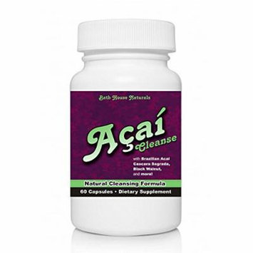 Acai Berry Cleanse with Acai Berry Colon Cleanse Detox, Natural Cleansing Formula 60 Capsules