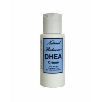 Natural Radiance DHEA Cream Bottle, Unscented, 2 Ounce