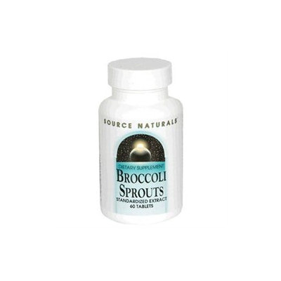 Source Naturals - Broccoli Sprouts Standardized Extract - 60 Tablets