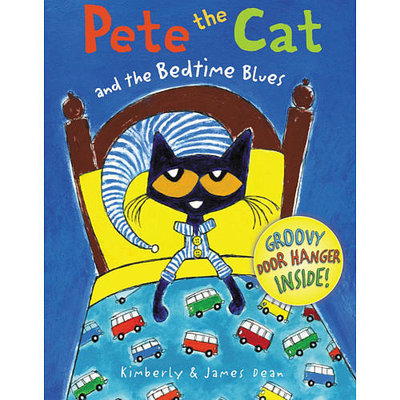 HarperCollins Pete the Cat and the Bedtime Blues Hard Cover Book