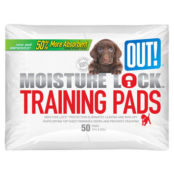 OUT! Pet Care Dog Housetraining Pads 50-pk. - 21x23