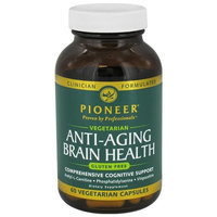 Pioneer Verified Gluten Free Comprehensive Brain Health Pioneer (Verified Gluten Free) 60 VCaps