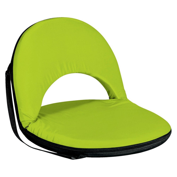 Picnictime Picnic Time Oniva Portable Lime Recreation Recliner Seat