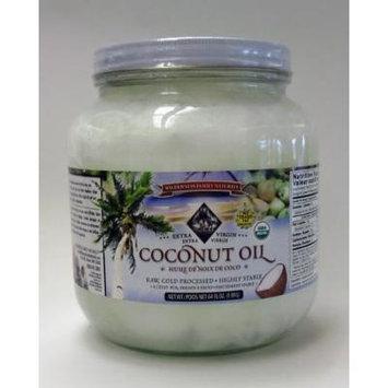 Coconut Oil, Virgin Cold Pressed, Certified Organic, 1/2 gallon