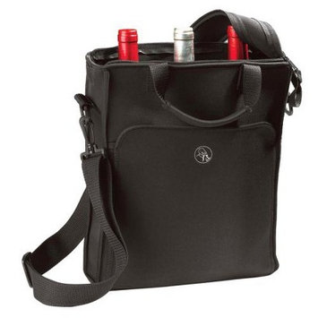 Wine Enthusiast 3 Bottle Neoprene Wine Tote Bag