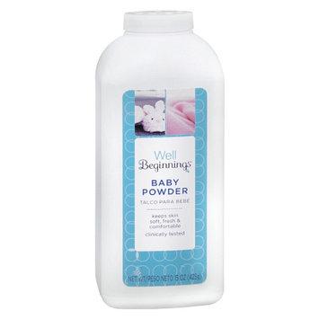 Walgreens Well Beginnings Baby Powder