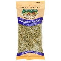 Snak Club Sunflower Kernals, Salted, 10 Ounce (Pack of 6)