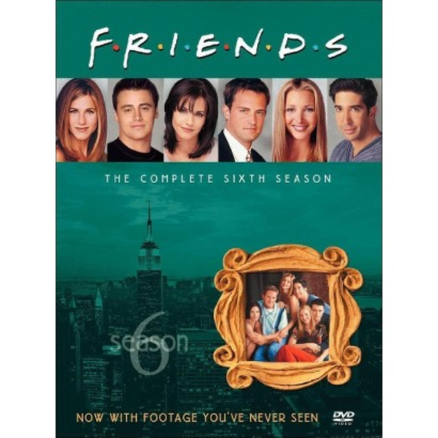 Warner Brothers Friends: The Complete Sixth Season Dvd from Warner Bros.