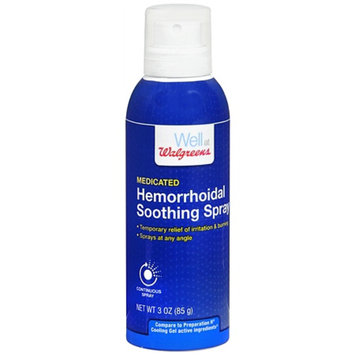 Walgreens Hemorrhoidal Spray