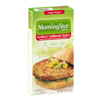 MorningStar Farms Grillers California Turk'y Veggie Burgers - 4 CT