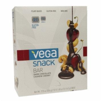 Sequel Vega Snack Bars - Dark Chocolate Cashew Cherry