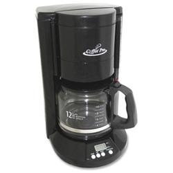 Coffeepro Cp333b Coffee Pro 12-cup Programmable Brewer - 12 Cup - Black