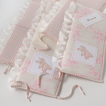 Cotton Tales Cotton Tale HGBU Heaven Sent Girl Crib Bumper