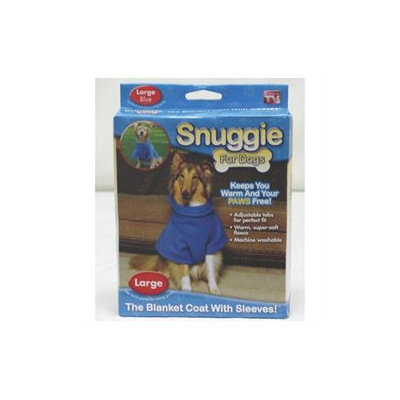 All Star Marketing Snuggie For Dogs Large Blue