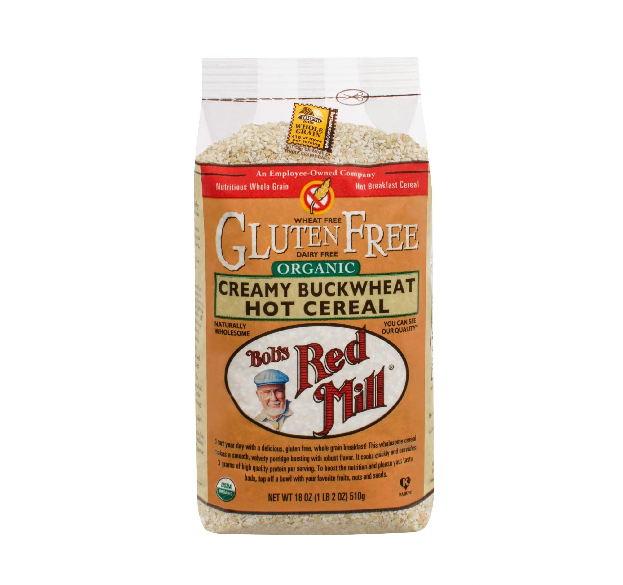 Bob's Red Mill Organic Creamy Buckwheat Hot Cereal