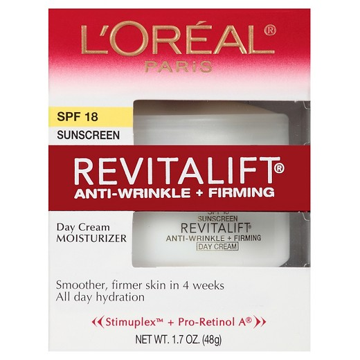 L'Oréal Paris RevitaLift Anti-Wrinkle + Firming Day Cream SPF 18