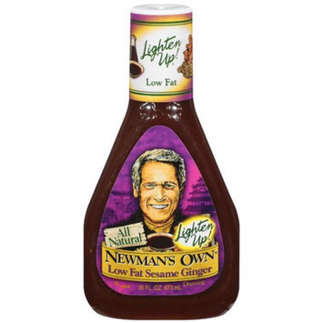 Newman's Own Lighten Up! Low Fat Sesame Ginger Dressing 16-oz.