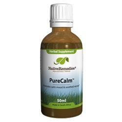Native Remedies BEC001 PureCalm Tincture for Anxiety - 50ml