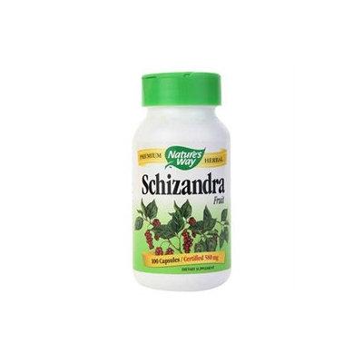 tures Way Nature's Way Schizandra Fruit 580mg 100 capsules