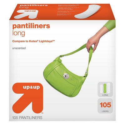 Up & Up Long Unscented Pantiliners 105-pk.