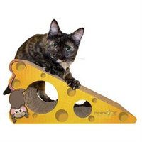 Imperial Cat 01003 Small Cheese Cat Scratcher