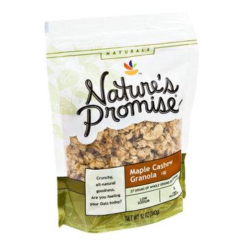 Nature's Promise Naturals Maple Cashew Granola
