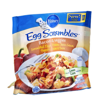 Pillsbury Egg Scrambles Bacon & Veggies Microwave Meal