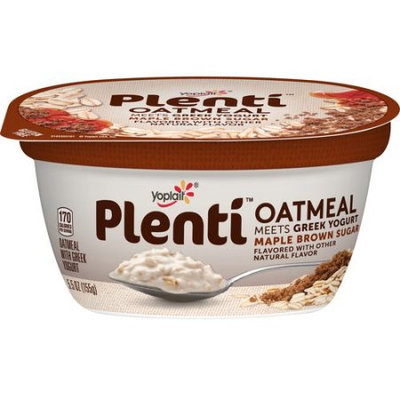 Yoplait® Plenti™ Maple Brown Sugar Oatmeal With Greek Yogurt