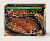 Amy's Kitchen Enchilada With Spanish Rice & Beans Meal