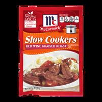 McCormick® Slow Cookers Red Wine Braised Roast Seasoning Mix
