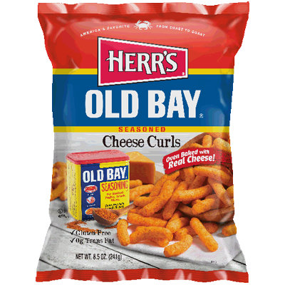 Herr's® Old Bay Cheese Curls
