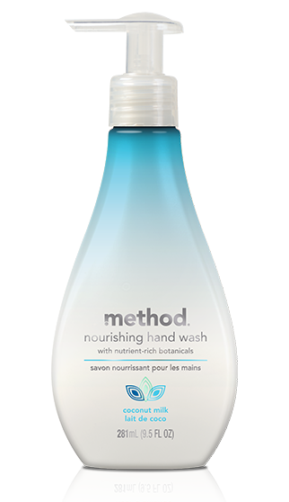 method nourishing hand wash coconut