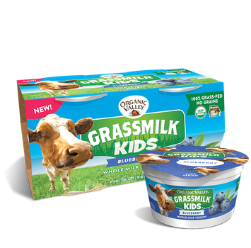 Organic Valley® Blueberry Grassmilk Kids Yogurt Cup