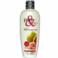 Pure and Basic Natural Bath and Body Wash Fresh Fig 12 fl oz