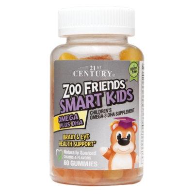 21st Century Zoo Friends Smart Kids Omega Plus DHA