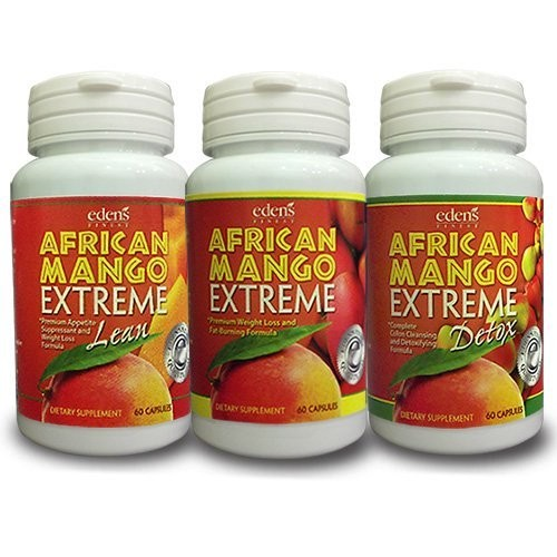 Eden S Finest African Mango Extreme Complete Weight Loss System African Mango Extreme African Mango Extreme