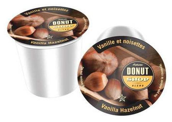 Authentic Donut Shop Blend Coffee (Vanilla Hazelnut, 1 Cup, 10g) [PK/24]. Model: SNDO2205
