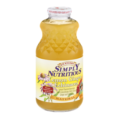 R.W. Knudsen Simply Nutritious Lemon Ginger Echinacea Natural