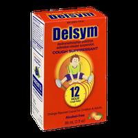 Delsym Cough Suppressant Liquid Orange-Flavored