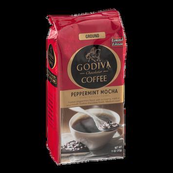 Godiva Coffee Ground Peppermint Mocha