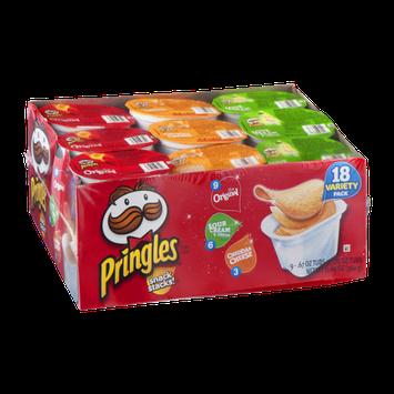 Pringles Snack Stacks! Variety Pack - 18 CT