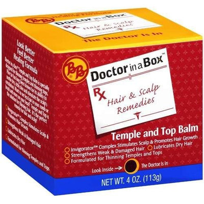 Bronner Brothers Bronner Bros Doctor in a Box Temple & Top Balm