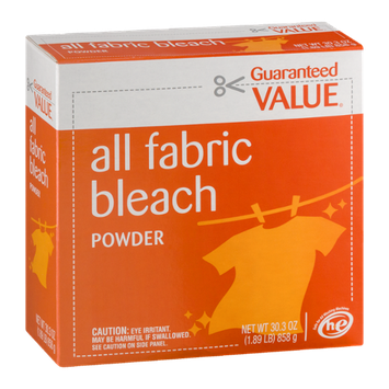 Guaranteed Value All Fabric Bleach Powder
