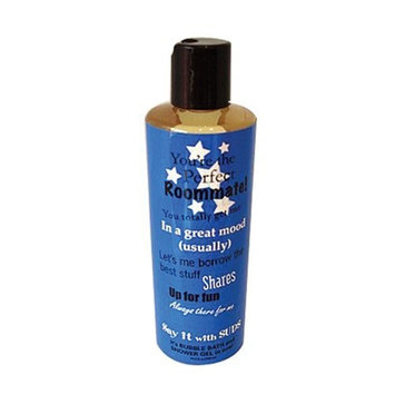 Not Soap, Radio Say It With Suds You're the Perfect Roommate bath/shower gel 10.2 oz.