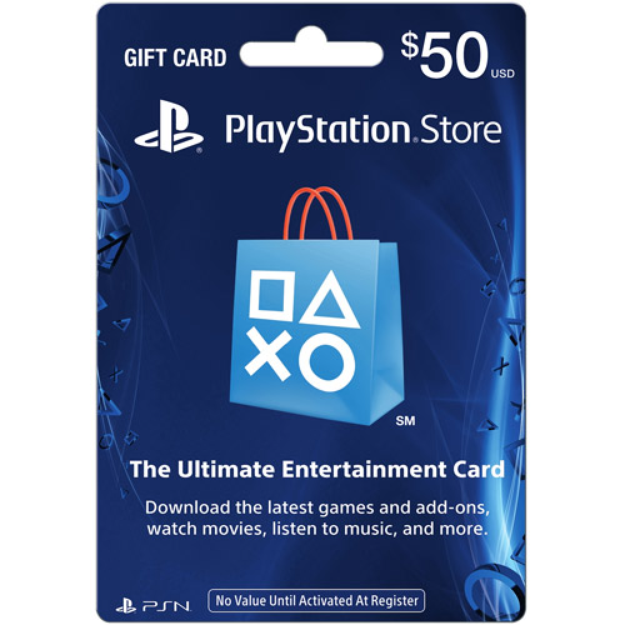 Sony PlayStation Store Card