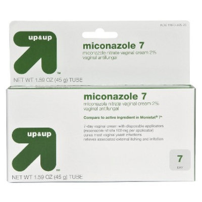 up & up Miconazole Cream with Applicator 7-pk.