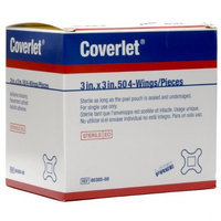 Coverlet 4 Wing Bandages 3x3 50/bx